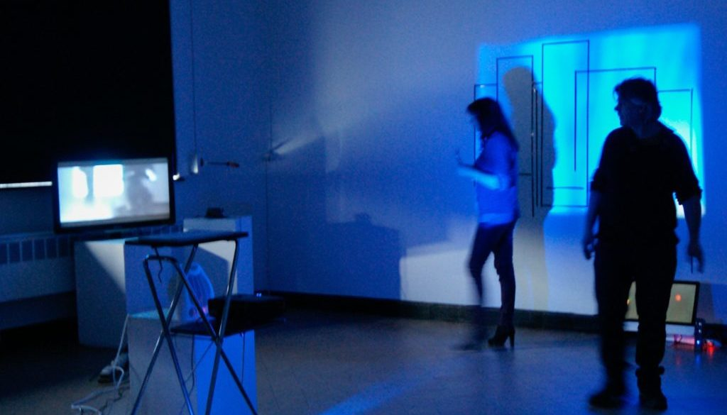 image d'une instalation vidéo